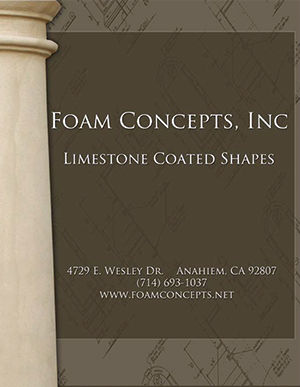 Limestone Coated Foam Shapes Catalog